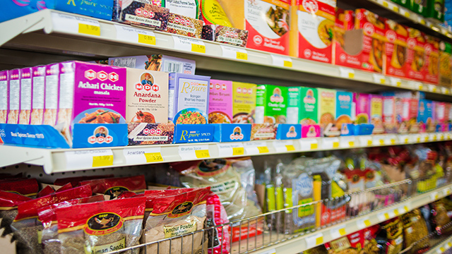 Flavor Indian & Asian Fare + Grocery Store