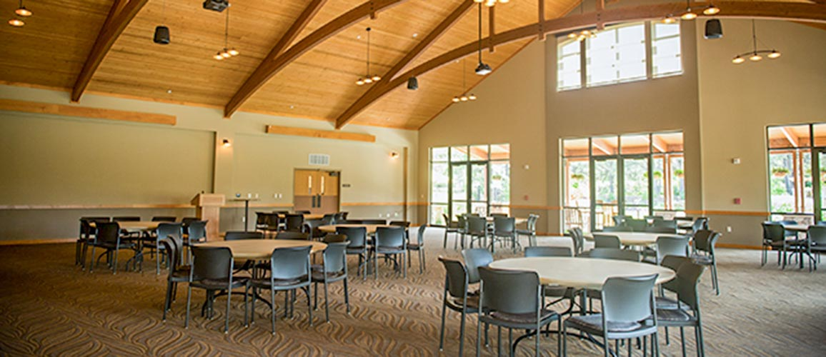 McCrory Gardens Education & Visitor Center