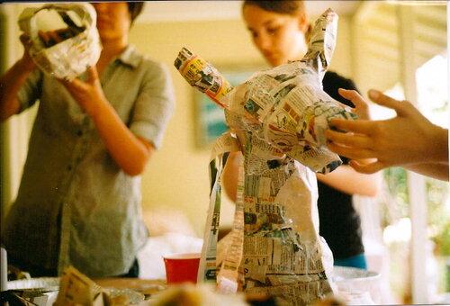 Paper Mache Teen Summer Camp