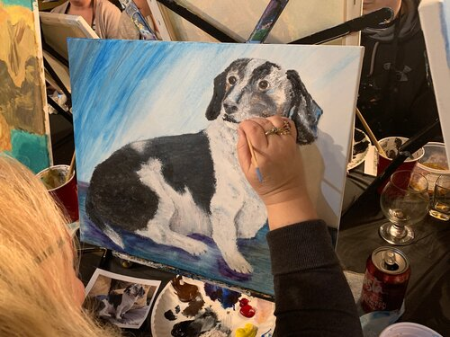 Pet Portraits at the BAC with Erik