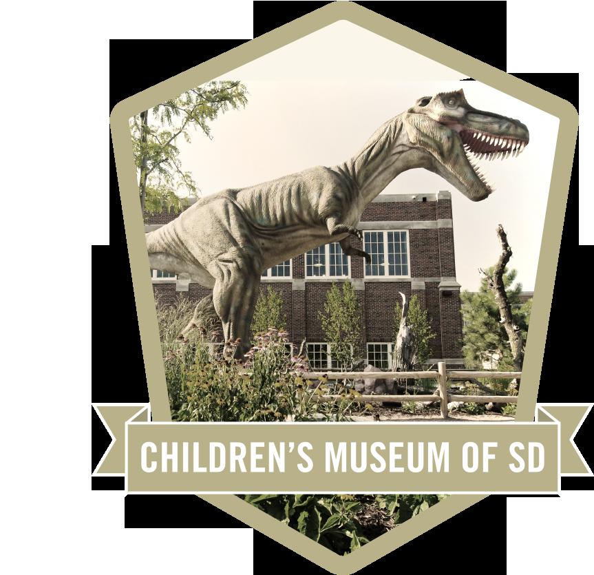 children's museum badge