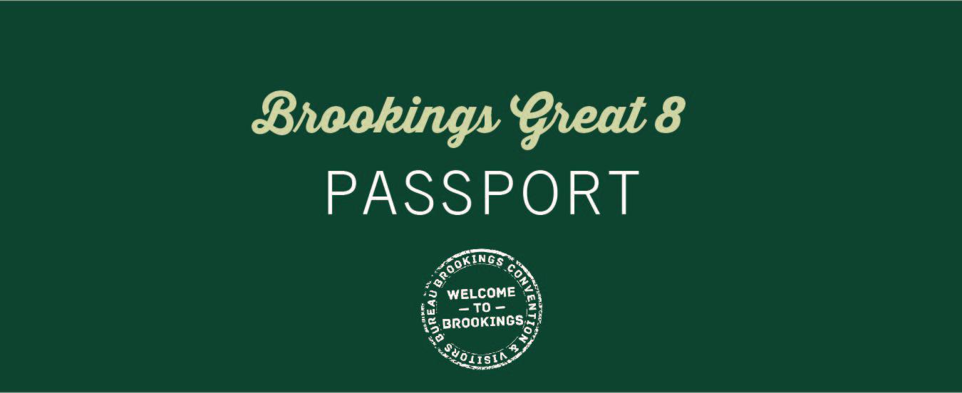 Brookings Great 8 Passport