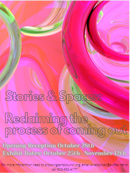 STORIES & SPACES: Reclaiming the process of coming out: Call For Art