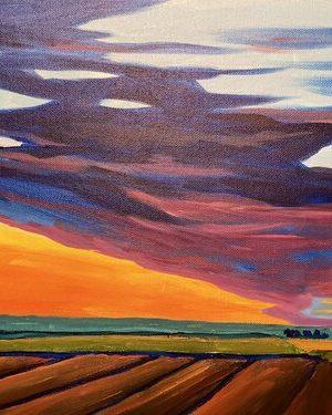 Painting a Landscape with Karen Kinder