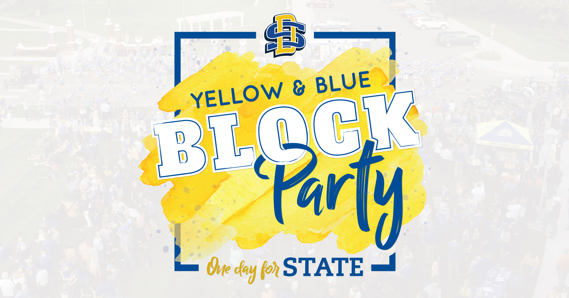 Yellow and Blue Block Party
